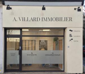 Vitrine A Villard Immobilier
